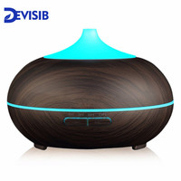 DEVISIB Essential Oil Diffuser Aroma Cool Mist Humidifier with Waterless Auto Shut off and 7 Color LED Light and BPA Free|cool mist humidifier|mist humidifier|essential oil diffuser -