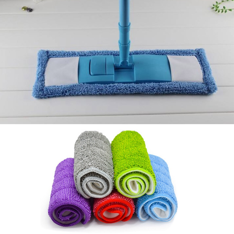Mop For Wash floor Cloth Replacement Household Dust Cleaning Tools Reusable Microfiber Pad Floor Mop Flat Accessories