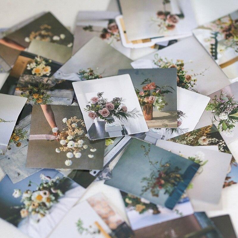"""46 шт./упак. с романтическими цветами цветение наклейка для скрапбукинга """"сделай сам"""" фотоальбом Декор Diy дневник альбом ярлыком Скрапбукинг Стикеры"""