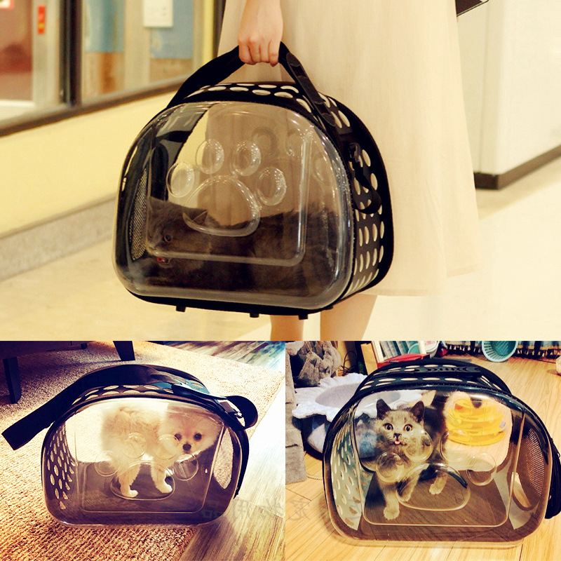 Pet Carrier For Dogs Cat Folding Cage Collapsible Crate Handbag Carrying Bags Pets Supplies Transport Carrying