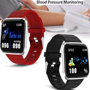Image 3 - Reloj inteligente IP67 para Android IOS, reloj inteligente deportivo resistente al agua con control del ritmo cardíaco y del oxígeno para hombre y mujer