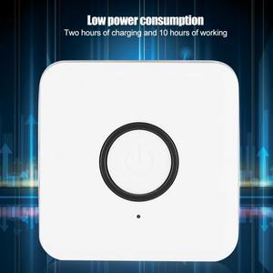 Image 2 - ABS الأبيض استقبال لاسلكي الارسال آلة المنزل معدات الصوت والفيديو الملحقات