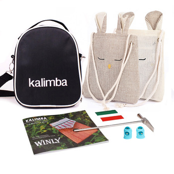 Kalimba Accessories - Kalimba Case,  Tuning Hammer , Song Book 1