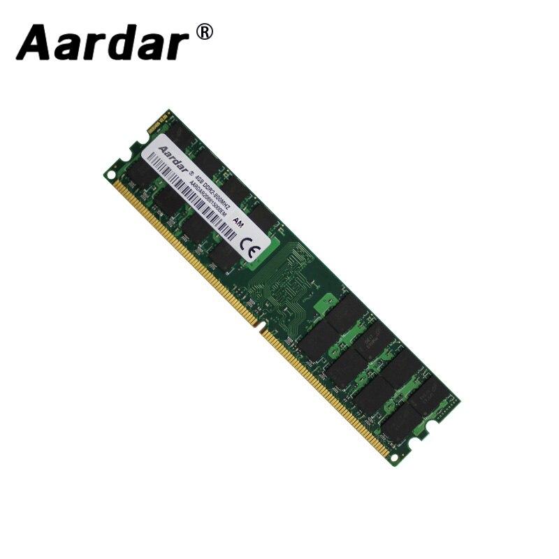 Aardar Vendita Calda di Memoria Sul Desktop DDR2 2GB di RAM 4GB 800MHz 667MHz 4G 2G di Alta computer compatibile ddr 2 di Buona Qualità