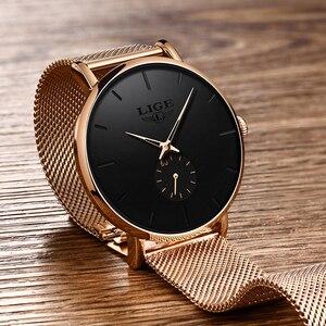 Image 2 - 2020 Luik Merk Luxe Vrouwen Casual Horloge Waterdicht Horloge Vrouwen Mode Jurk Alle Rvs Dames Klok Reloj Mujer
