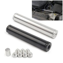 """New car fuel filter 1/2"""" 1/2 28"""" thread aluminum for"""