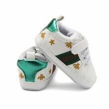Новое поступление 2021 модная обувь для новорожденных белые