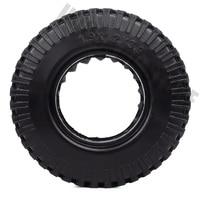 INJORA 4PCS 98MM 1.9 Rubber Wheel Tires for 1:10 RC Rock Crawler Axial SCX10 AXI03007 D90 TF2 Tamiya CC01 1.9 Inch Tyres 4