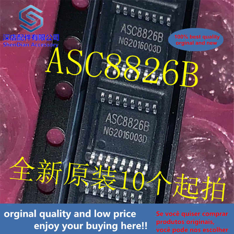 10pcs 100% Orginal And New ASC8826B TSOP-16 ASC88268 TSOP16 Best Qualtiy