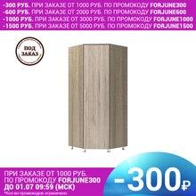 Шкаф Виктория угловой (Пикард, ЛДСП с кромкой ПВХ, Дуб сонома тёмный) Комфортная мебель