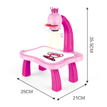 Desk-Paint-Tool Projector Table-Desk Painting Drawing-Table Early-Learning Educational