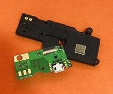 Używane oryginalne wtyczki USB ładowania pokładzie + głośnik dla HOMTOM ZOJI Z7 MTK6737 czterordzeniowy 5.0 Cal darmowa wysyłka