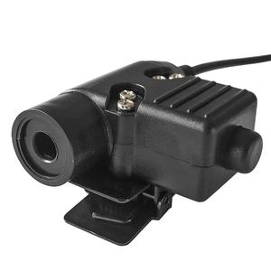 Image 4 - TAC SKY PTT U94 new upgraded u94 ptt tactical headset walkie talkie adapter Kenwood plug ptt tactical ptt u94