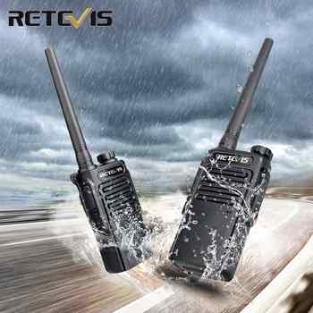 RETEVIS RT647 RT47 PMR Radio Waterproof Walkie Talkie 2 pcs IP67 PMR Radio PMR446 License-free Walkie-Talkies for surf/skiing - DISCOUNT ITEM  35 OFF Cellphones & Telecommunications