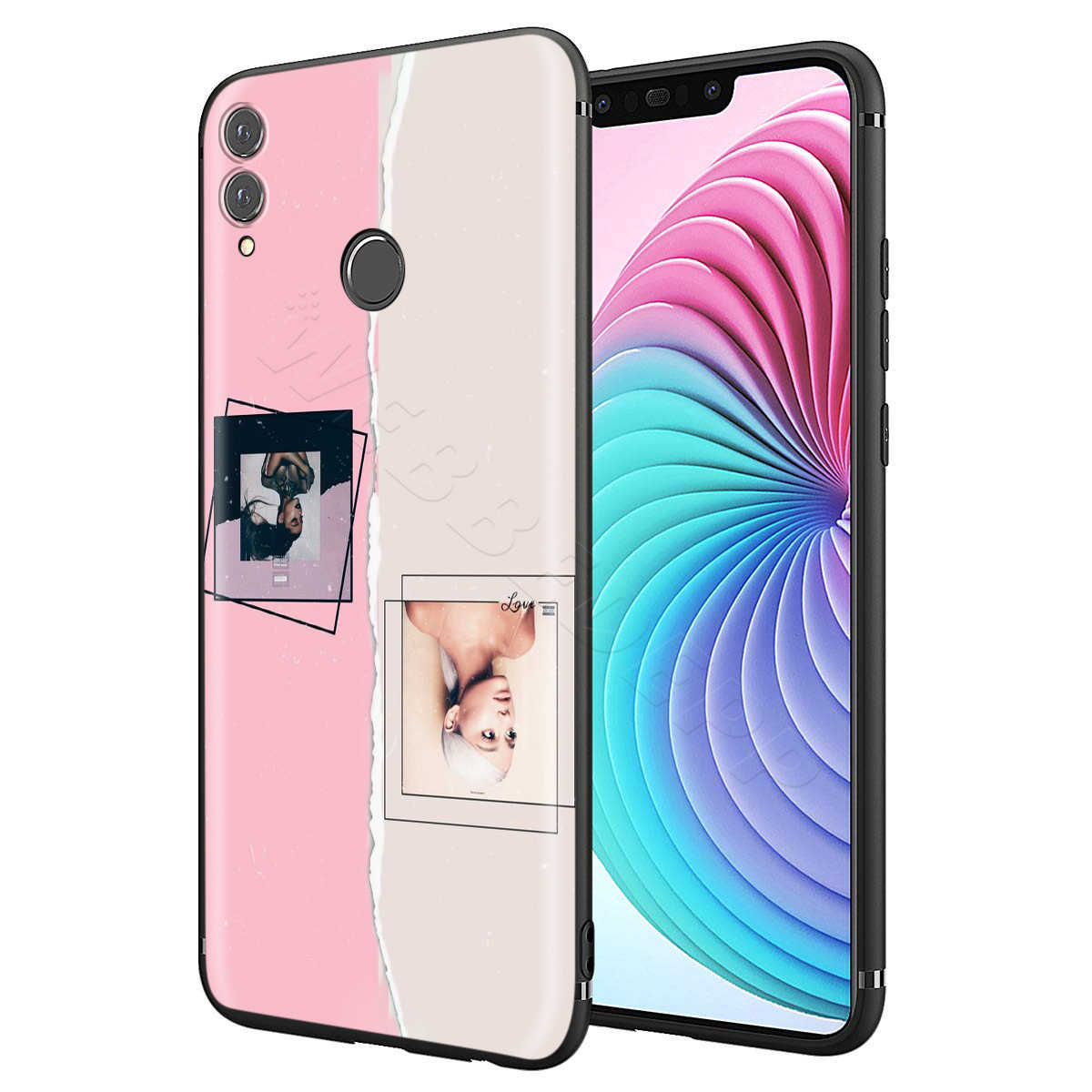 Webbedepp Ariana Grande, Dios es una mujer para Huawei P8 P9 P10 P20 P30 Lite Pro P Smart Z 2019 Mini 2019