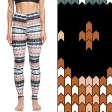 TOIVOTUKSIA Women Leggings High Waist Stretch Elasticity Leggins Summer Slim Skinny Female Printed Pants