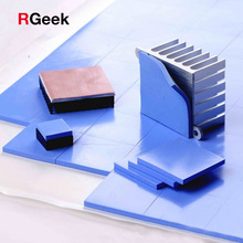 CPU Heatsink Silicone-Pad Conductive Cooling 10mm--10mm--1mm GPU High-Quality W/mk 100pcs
