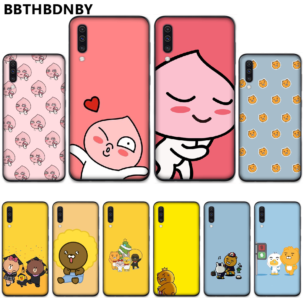 Korean Cartoon Funny Cocoa Friend Cell Phone Case For Samsung S6 S7 Edge S8 S9 S10 E Plus A10 A50 A70 Note8 J7 2017 Aliexpress
