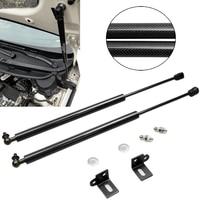 for KIA  Forte K3 K3S  Cerato 2012 2015 Front Hood Bonnet Modify Gas Struts Lift Support Gas Shock Carbon fiber Damper|Strut Bars| |  -