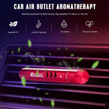Car Air Freshener Outlet Car Air Conditioning Vent Solid Perfume Car Perfume Stick Supplement 4 Flavour Car Accessories image