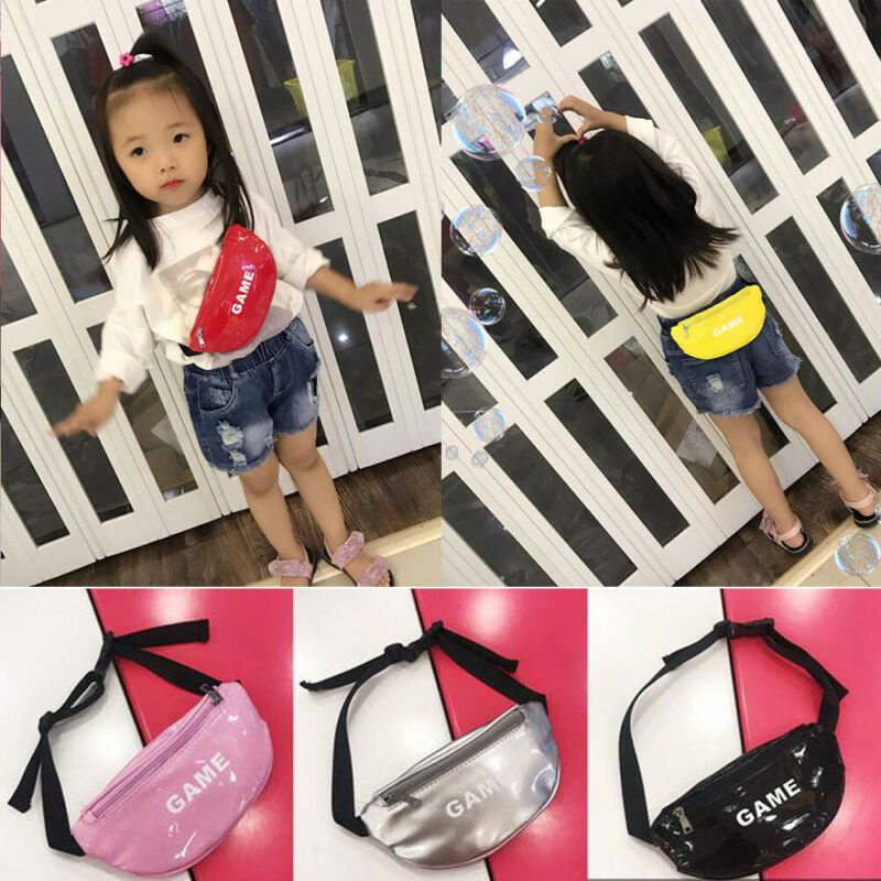 Pudcoco 2019 Fashion New Toddler Baby Girls Kids Waist Bag Pack Outdoor Sports Pouch Belt Hip Chest Crossbody Travel Purse