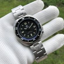 SD1970 Steeldive Марка 44MM Мужчины NH35 Dive Часы с керамической рамкой