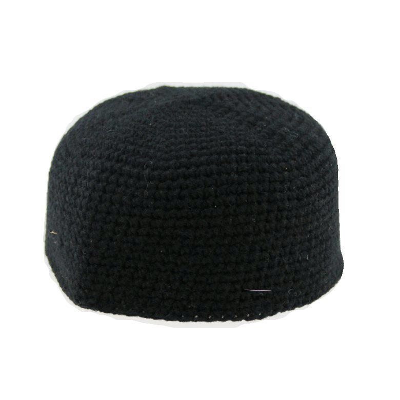 Keep Warm Winter Caps Wool Hand Knit Muslim Hat Islamic Topi Chapeau De Priere Islam Arabic Arabe Kufi Skullies Beanies Men