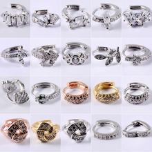 Earring Piercing Zircon-Ear Helix Jewelry Studs Ear-Clips Nose Cartilage Fashion Woman