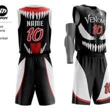 DPOY brand design MARVEL basketball jersey suit for team Spo