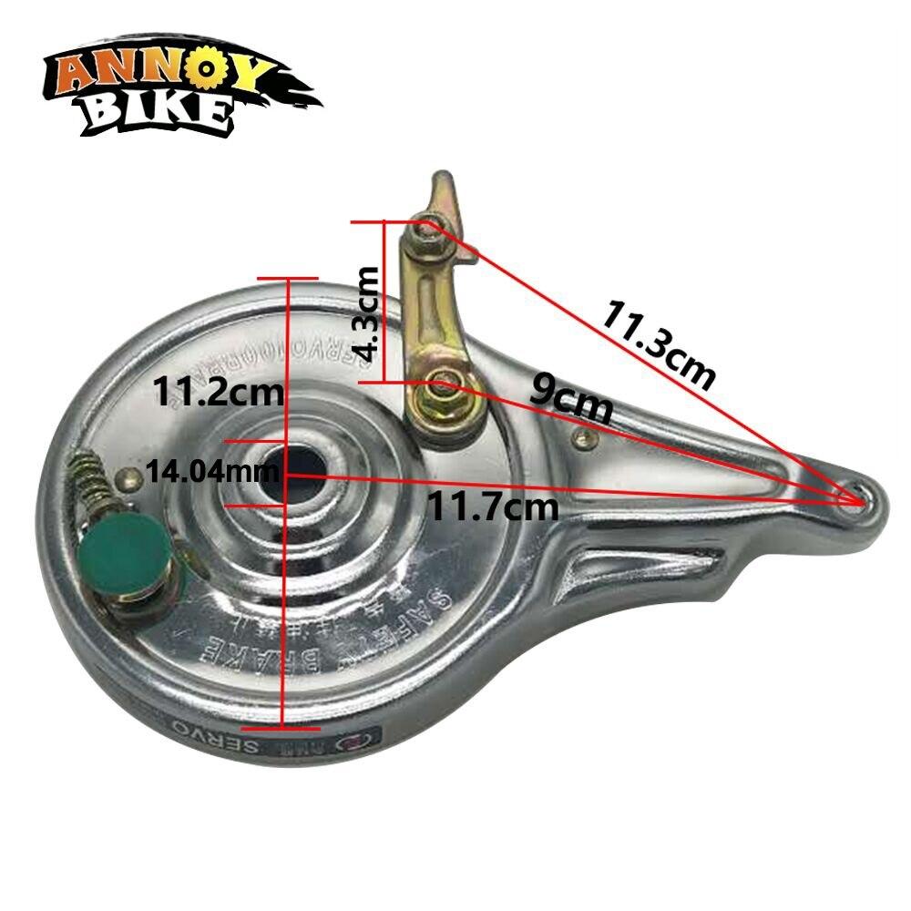 Электрический велосипедный тормоз 35 мм, универсальный задний тормоз для скутера, аксессуары для мотора