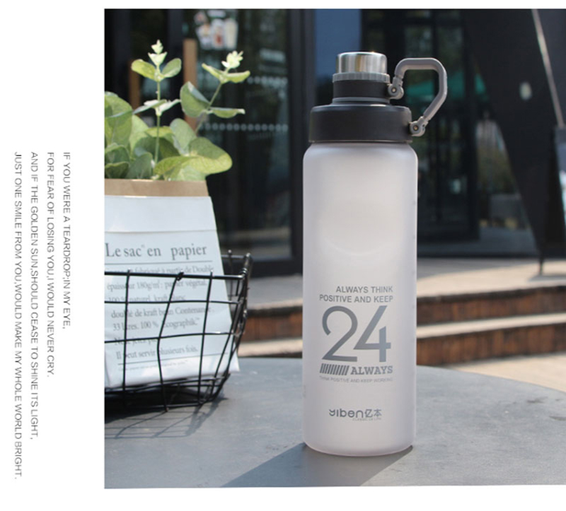 Hf0a27bc93368412a9b4f9c4f8d37260cy Kettle 850ML large capacity plastic water dispenser travel student outdoor sports school portable scrub leak cup drinking bottle