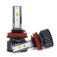 Car Headlights Lamp Car Light Source Parking 6000K 2Pcs 9005 9006 H11 55W 12V Super White Halogen Bulbs Fog Lights High Power 1