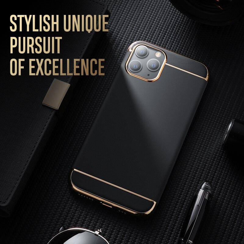 Joyroom Case para iPhone 11 Pro Max caso mate Ultra delgado de la PC dura de la cubierta de parachoques para iPhone 11 Pro Max caso Original de lujo