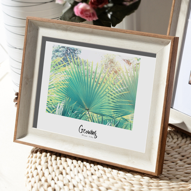 Beautiful Nordic Picture Frame Color: J Size: 7 inch