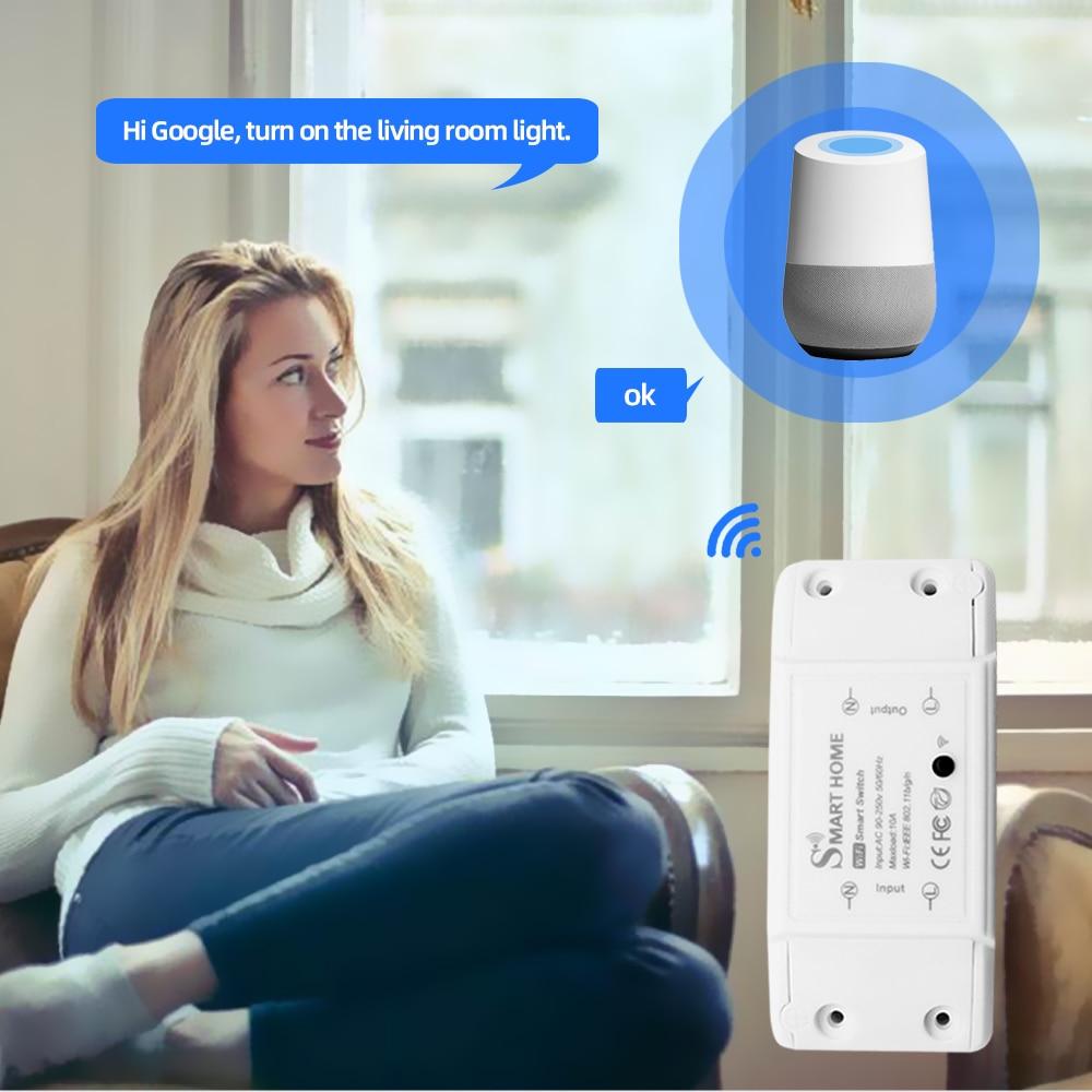 Przełączni umożliwia synchronizacje z systemami sterowania głosem.