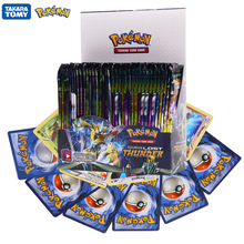 324Pcs Pokemon Cards TCG:LOST Thunder Sword&Shield Sun&Moon English Trading Card Game Booster Box Collectible Kid Toys Gift