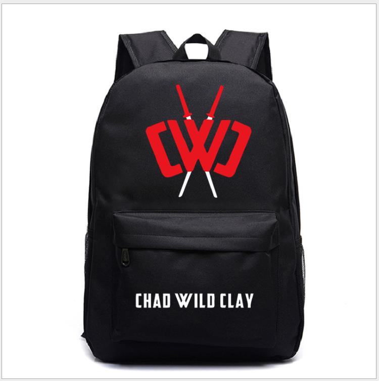 Anime Chad Wild Clay Hexa Puzzle Knapsack Teenagers Student's School Bag New Travel Bags Unisex Leisure Backpack
