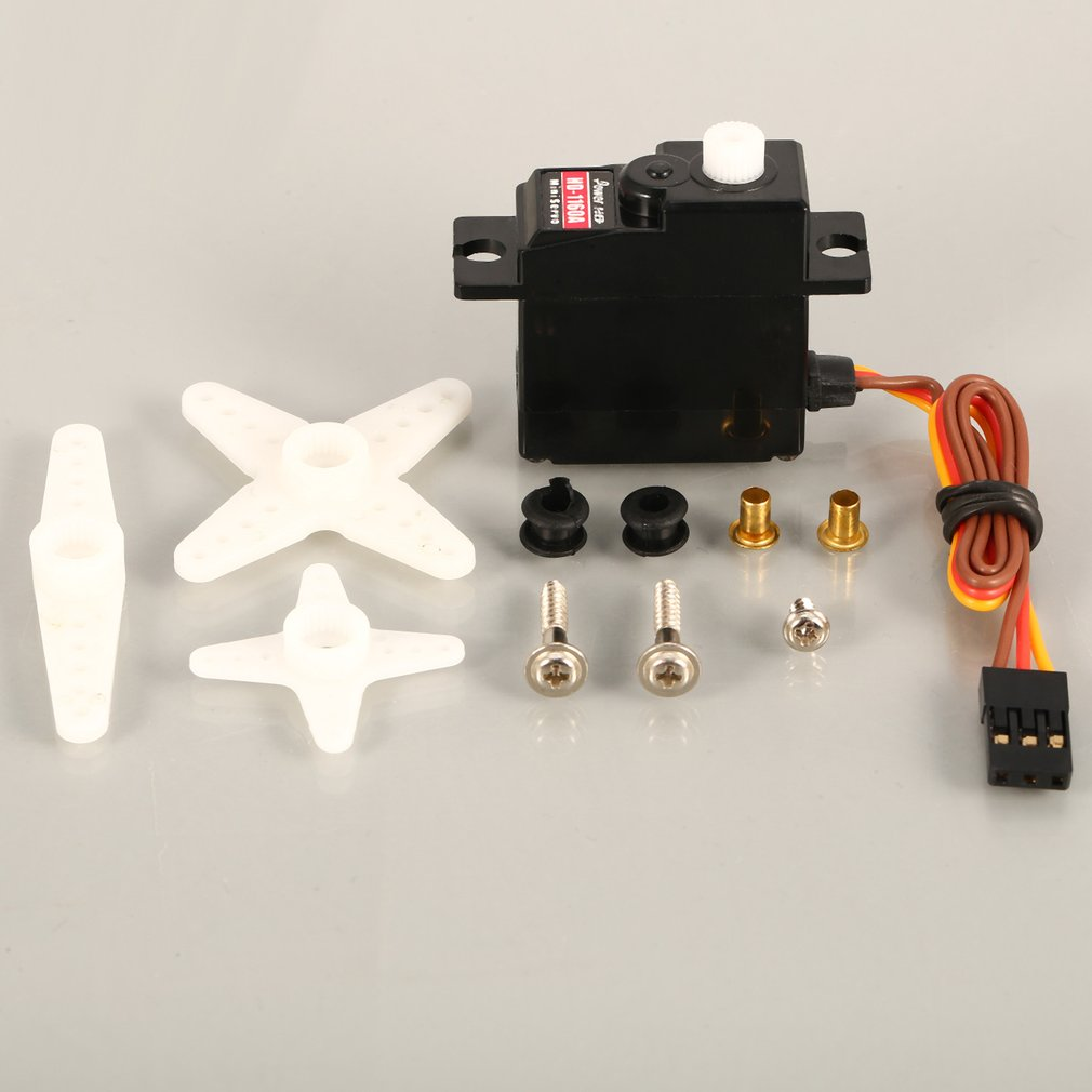 Power HD HD-1160A 3kg Steering Torque Digital Plastic Gear Mini Servo for RC Car Buggy Robot Helicopter Drone Spare Parts