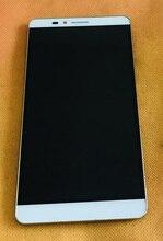 사용 된 원래 lcd 디스플레이 화면 + 터치 스크린 + 프레임 hasee hl9916004 무료 배송