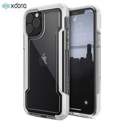 X-doria Defense wyczyść etui na telefon dla iPhone 11 Pro Max klasy wojskowej spadek testowane skrzynki pokrywa dla iPhone 11 Pro Coque ochronne