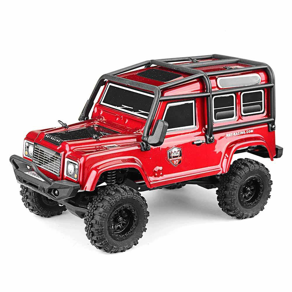 RCtown RGT 136240 RC Car V2 1/24 2.4G 4WD 15km/h Radio Control RC Rock Crawler Off-road Vehicle Models Toys Gifts