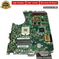 For Toshiba Satellite L750 L755 BLBD Laptop Motherboard DABLBDMB8E0 A000080820 MAIN BOARD HM65 DDR3 N12P LP A1 GT525M 1GB