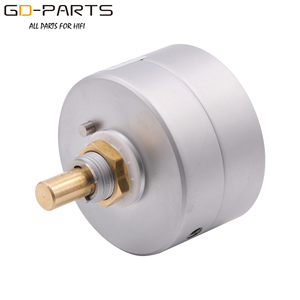 Image 2 - EIZZ 3 Way 3 Positions Rotary Switch Signal Source Selector Aluminum Shield 12 Gold Plated Copper Pins Hifi Audio AMP DIY