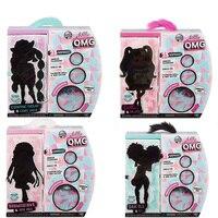 4 Set L.O.L Surprise! O.M.G. Winter Disco Fashion Doll & Sister LOL OMG For Kids Toy