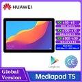 Глобальная версия HUAWEI Mediapad T5 новый планшет 1080P Full HD 2 Гб оперативной памяти, 32 Гб встроенной памяти, 10,1 дюймов 4 аппарат не привязан к оператор...