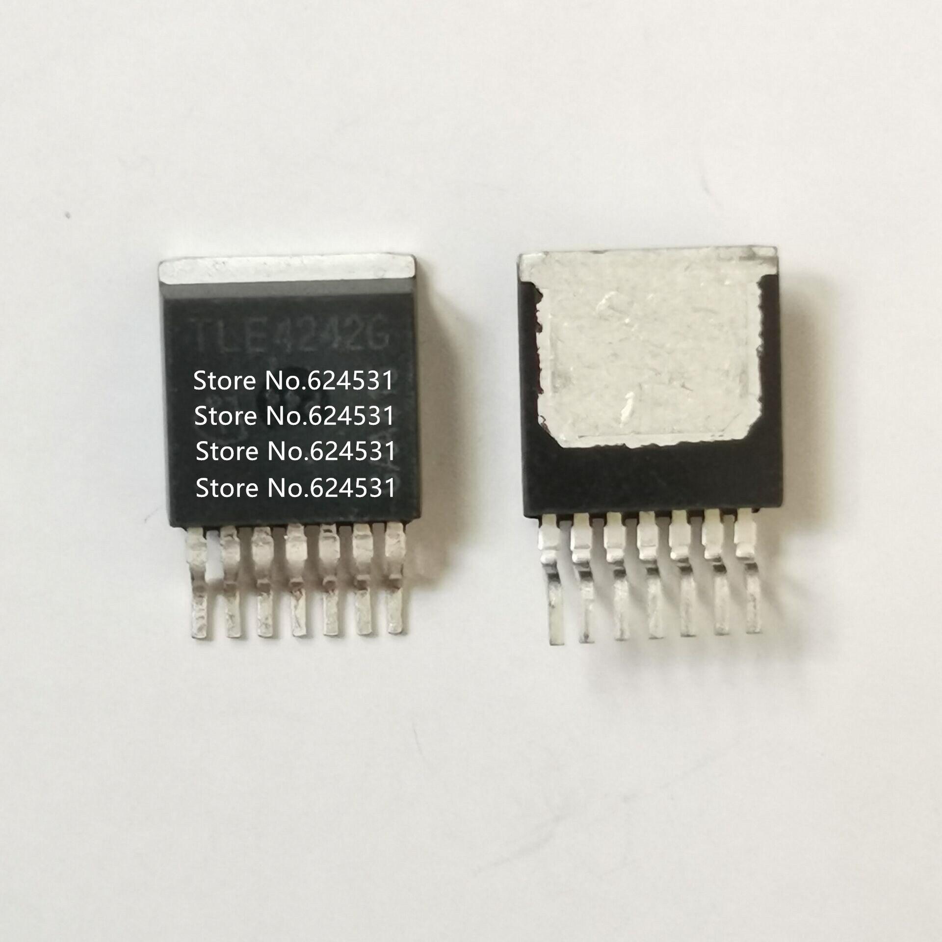 Купить с кэшбэком Hot spot 5pcs TLE4242G TO263-7 TLE4242 power chip new