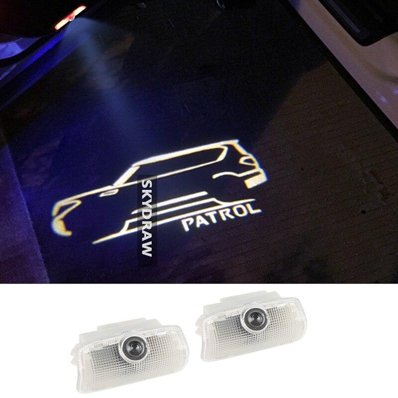 Door Welcome Light For Nissan Patrol Y62 Armada 2013-18