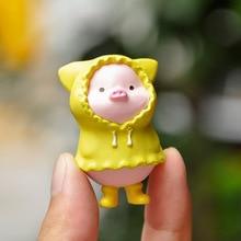 Car Decoration Pig-Doll-Ornaments Little-Pig Cute Desktop 6pcs DIY Micro-Landscape