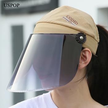 USPOP New Summer sun hats UPF50+  sunscreen hast professional anti uv rays PC lens hat