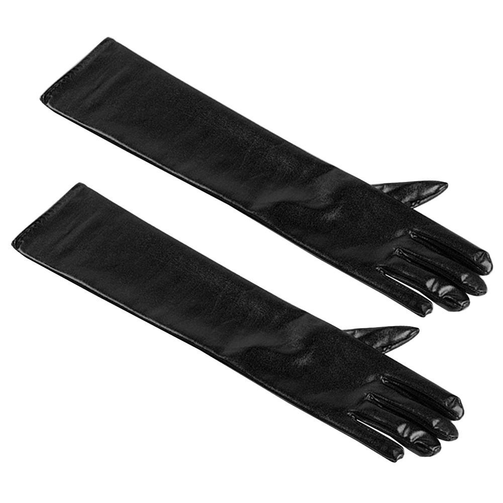 Gloves Etiquette Gloves Halloween Christmas Gold And Silver Cloth Gloves Cosplay Masquerade Performance Props